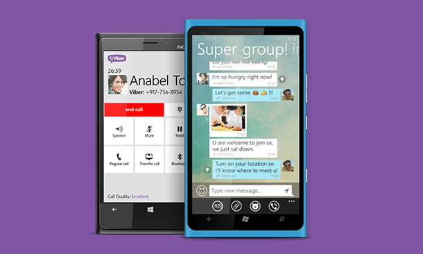 viber gratuit pour nokia lumia 610