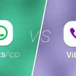 Comparativa entre Whatsapp y Viber